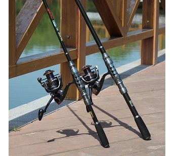 Sougayilang Telescopic Fishing Rod and Fishing Reel Combo Kits 5