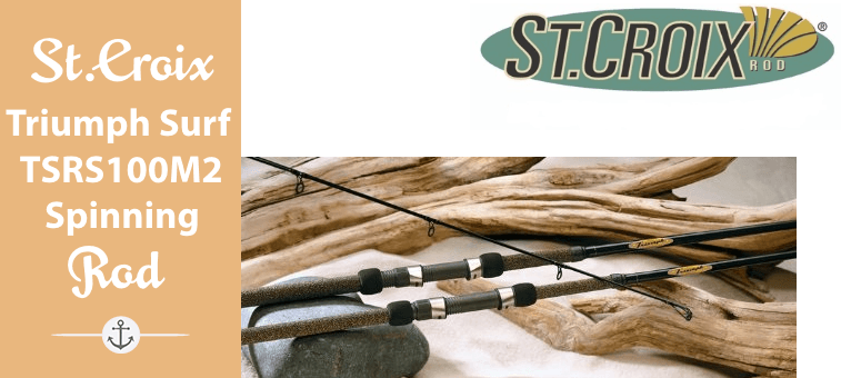 St. Croix Triumph Surf Spinning Rod, TSRS100M2 Featured