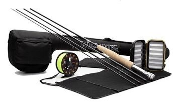 Wild Water Fly Fishing Complete 3-4 9 ft Rod Starter Package 1