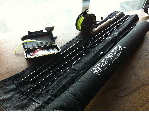 Wild Water Fly Fishing Complete 3-4 9 ft Rod Starter Package 3