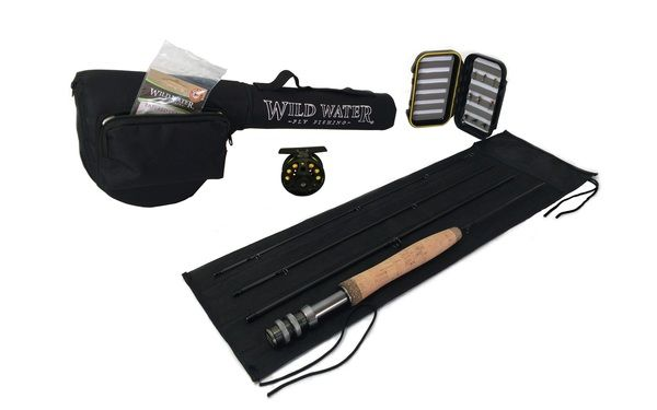 Wild Water Fly Fishing Complete 5-6 Starter Package 3