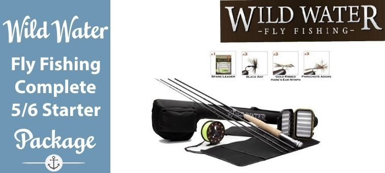 Wild-Water-Fly Fishing Complete 5-6 Starter Package Featured