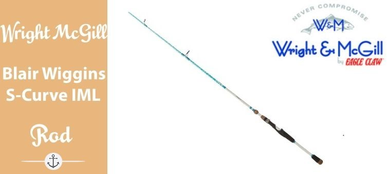 Wright-McGill-Blair Wiggins S-Curve Inshore Rod ML Featured