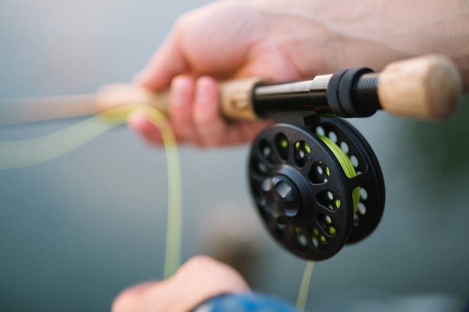 the spring within the spinning reel is jostled and will need to be put back onto its correct position