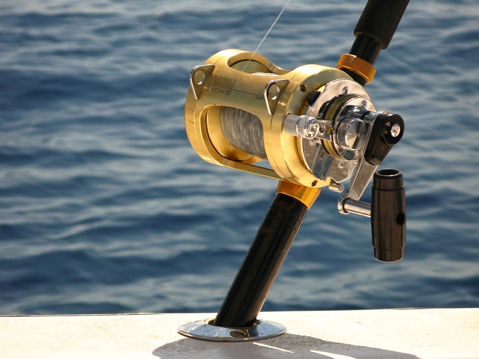 spooling braided line on a conventional reel
