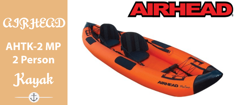 AIRHEAD AHTK-2 Montana Performance 2 Person Kayak Featured