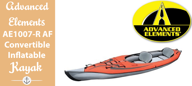 Advanced Elements AE1007-R AdvancedFrame Convertible Inflatable Kayak featured