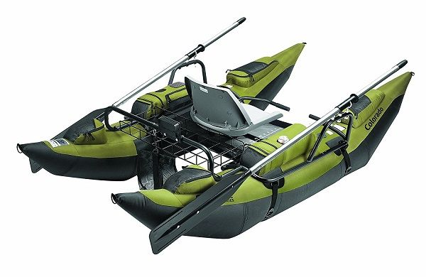 Classic Accessories Colorado Inflatable Pontoon Boat With Motor Mount 3