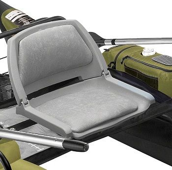 Classic Accessories Colorado Inflatable Pontoon Boat With Motor Mount 5