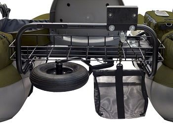 Classic Accessories Colorado XT Inflatable Pontoon Boat With Transport Wheel & Motor Mount 2