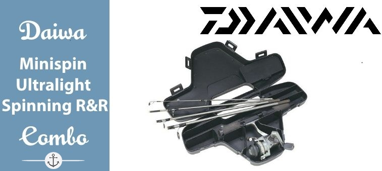 Daiwa-Mini System-Minispin Ultralight Spinning Reel and Rod Combo Featured