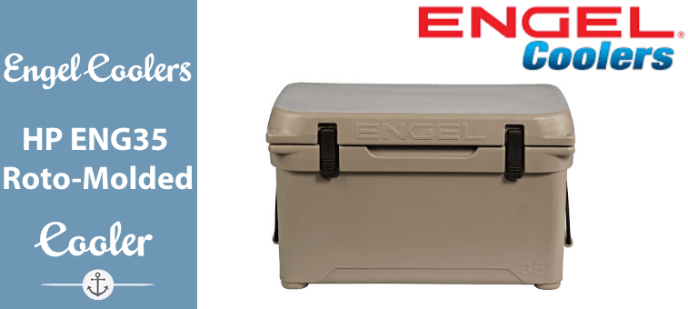 Engel Coolers High Performance ENG35 Roto-Molded Cooler Featured