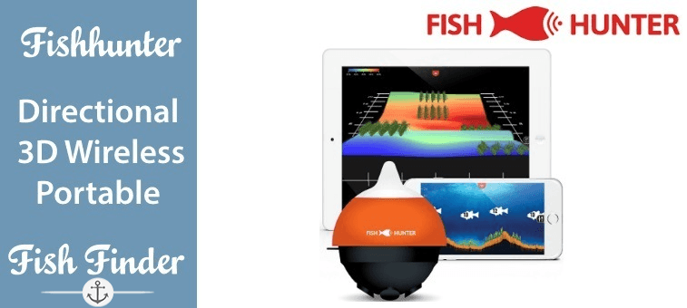 FishHunter Directional 3D Wireless, Portable Fish Finder Featured