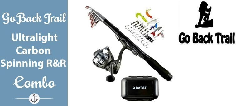 Fishing-Rod-Kit Backpacking Ultralight Spinning Rod&Reel Featured