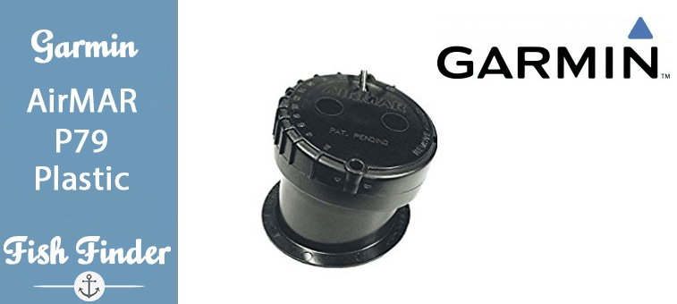 Garmin AIRMAR P79 Plastic adjustable in-hull mount Depth Featured