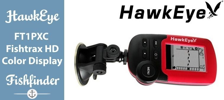 HawkEye-FT1PXC Fishtrax Fish Finder with HD Color Virtuview Display Featured