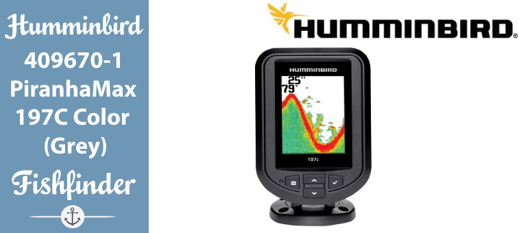 Humminbird 409670-1 PiranhaMax 197C Color Fish Finder (Grey) Featured