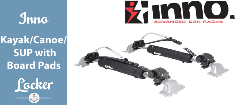Inno Kayak-Canoe-SUP Locking Carrier with Board Pads Featured