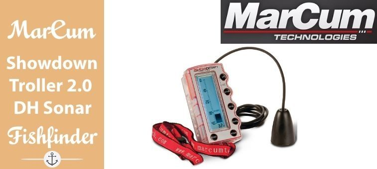 MarCum-Showdown Troller 2 Digital Handheld Sonar Featured