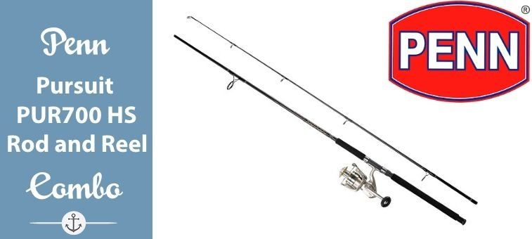 Penn-Pursuit-PUR700 Heavy Spinning Rod and Reel Combo 9 Ft 2 Pc Featured