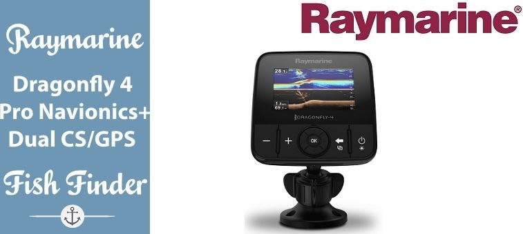 Raymarine-Dragonfly-4 Pro Navionics Dual Channel Sonar GPS Featured