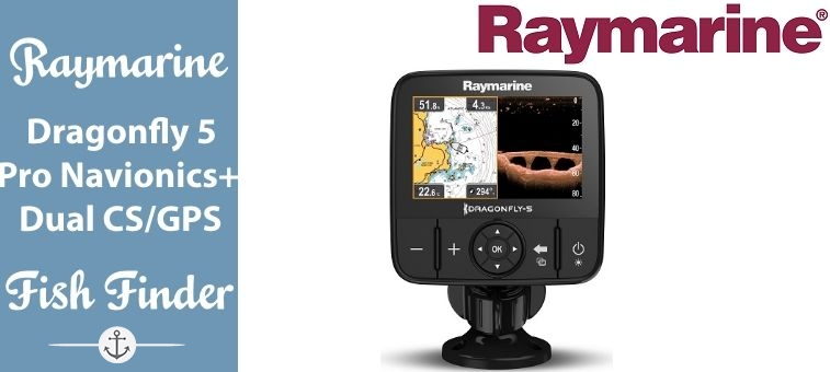 Raymarine-Dragonfly 5 Pro Navionics Dual Channel Sonar GPS Featured