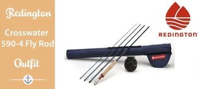 Redington Crosswater 590-4 Fly Rod Outfit (9 ft, 5wt, 4pc) Featured