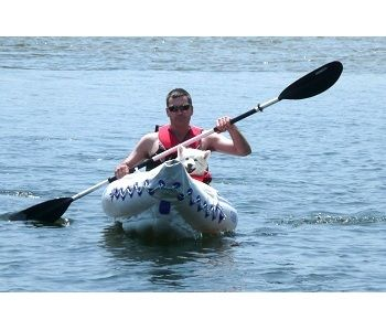 Sea Eagle 330 Inflatable Kayak with Deluxe Package 2