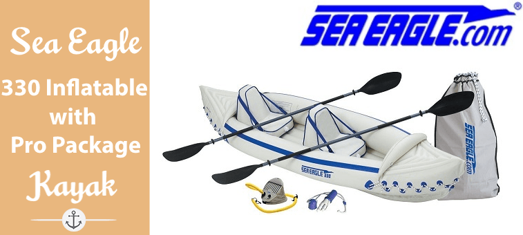 Sea Eagle 330 Inflatable Kayak with Pro Package Featured