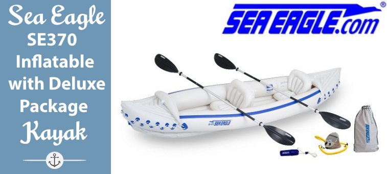 Sea Eagle SE370 Inflatable Kayak with Deluxe Package featured