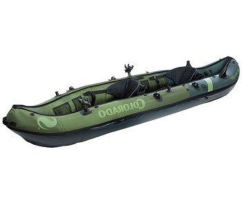 Sevylor coleman colorado fishing kayak review reel chase for Sevylor coleman colorado 2 person fishing kayak