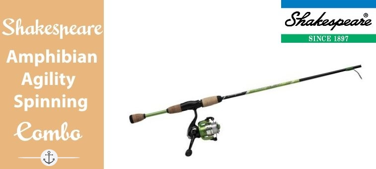 Shakespeare-118727-Combo Amphibian Agility Spinning Combo Featured