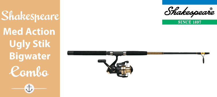 Shakespeare Medium Action Ugly Stik Bigwater Combo Featured