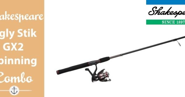 Ugly Stik GX2 Spinning Combo Review |