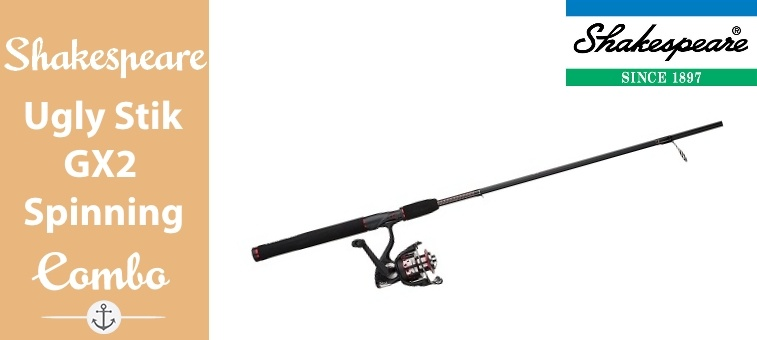 Shakespeare-Ugly-Stik GX2 Spinning Fishing Combo Featured