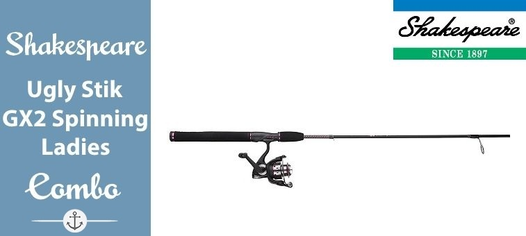 Shakespeare Women's Ugly Stik GX2 Spinning Rod Combo Review