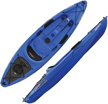 Sun Dolphin Bali SS 10-Foot Sit-on top Kayak 4