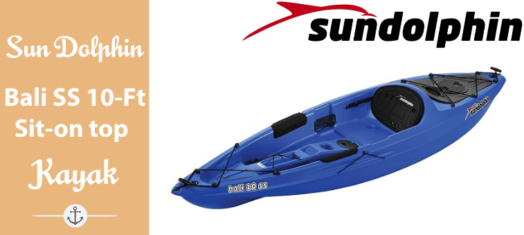 Sun Dolphin Bali SS 10-Foot Sit-on top Kayak Featured