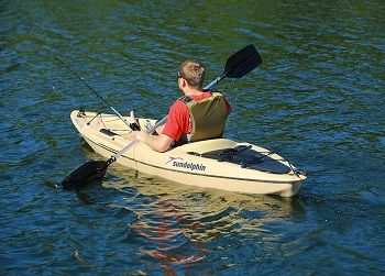 Sun Dolphin Journey 10-Foot Sit-on-top Fishing Kayak 5