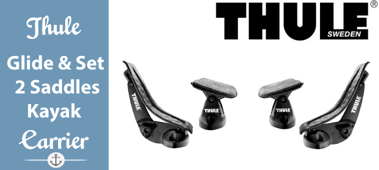 Thule Glide & Set Kayak Carrier - 2 Saddles Featured