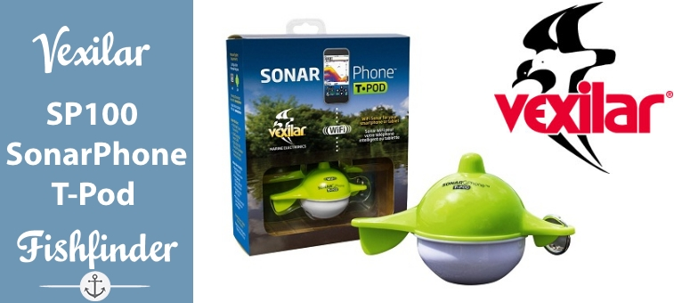 Vexilar-SP100 SonarPhone with Transducer Pod Featured