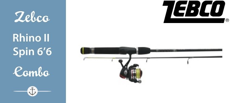 Zebco Rhino II Spin Combo, 6 ft 6 Featured