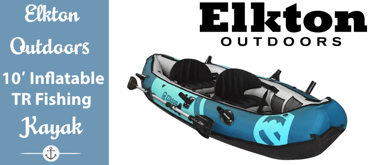 Elkton Outdoors 10 Foot Inflatable Kayak Featured