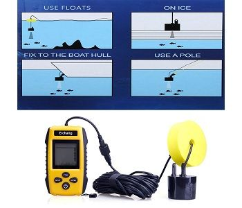 Erchang Wired Portable Fish Finder 1