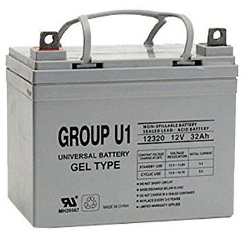 Gel Cell Scooter Battery 1