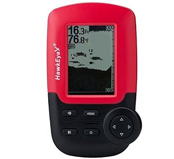 HawkEye FT1PX FishTrax Portable Dot Matrix Fish Finder