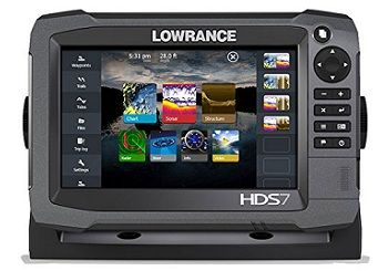Lowrance 000-11788-001 HDS-7 GEN3 Insight Fishfinder-Chartplotter with CHIRP