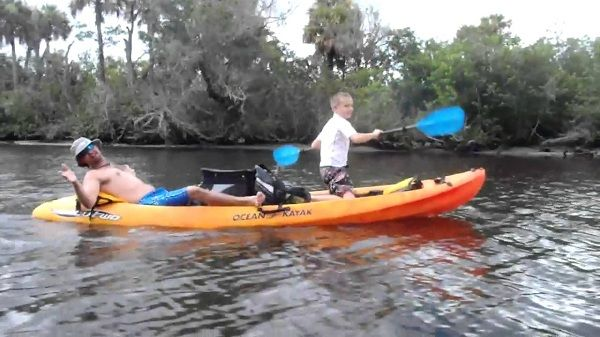 Ocean Kayak 12-Feet Malibu Two Tandem Sit-On-Top Recreational Kayak 3