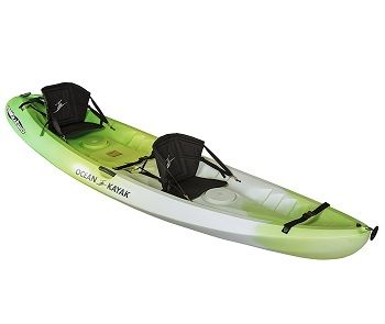 Ocean Kayak 12-Feet Malibu Two Tandem Sit-On-Top Recreational Kayak 7