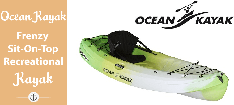 Ocean Kayak Frenzy Sit-On-Top Recreational Kayak Featured